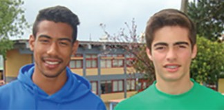 Lázaro Gonçalves e David Martinho