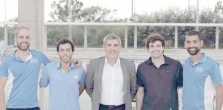 Victor Seco, Miguel Felix, Preseidente Camara, Francisco Macedo, Luis Cenicante