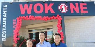 Restaurante chinês wok one na Zona Industrial das Caldas da Rainha