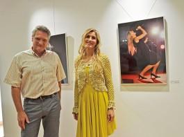 Uli Schmidt e Mila Ferreira