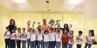 Gazeta das Caldas - Crianças combatem os medos e contam a história em livro