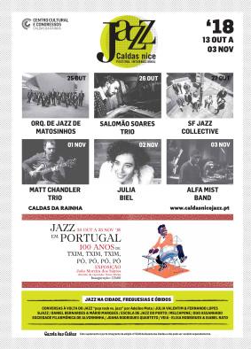 Gazeta das Caldas - Caldas Nice Jazz 2018